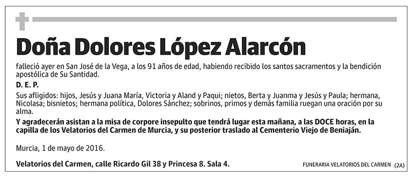 Dolores López Alarcón