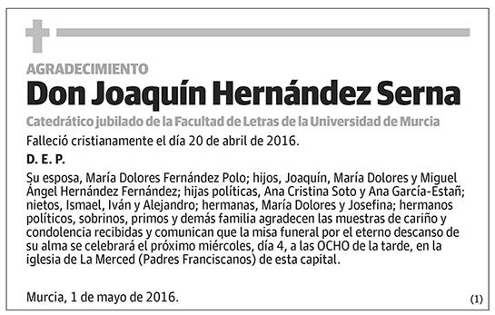 Joaquín Hernández Serna