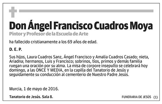 Ángel Francisco Cuadros Moya