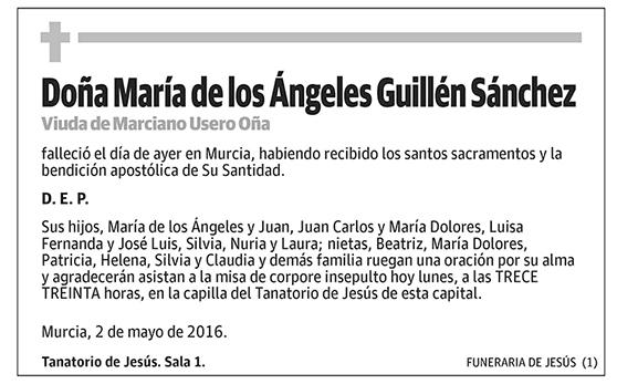 María de los Ángeles Guillén Sánchez