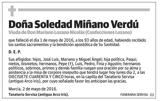 Soledad Miñano Verdú