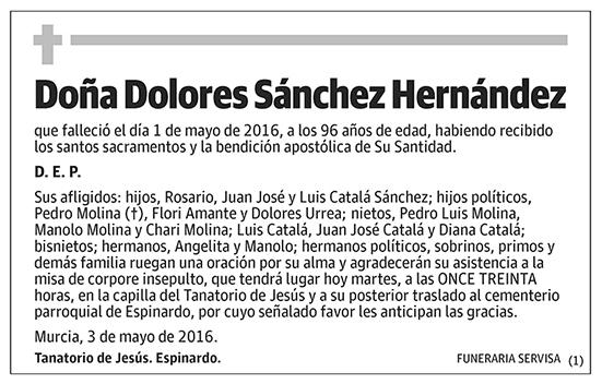 Dolores Sánchez Hernández