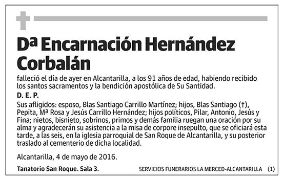 Encarnación Hernández Corbalán