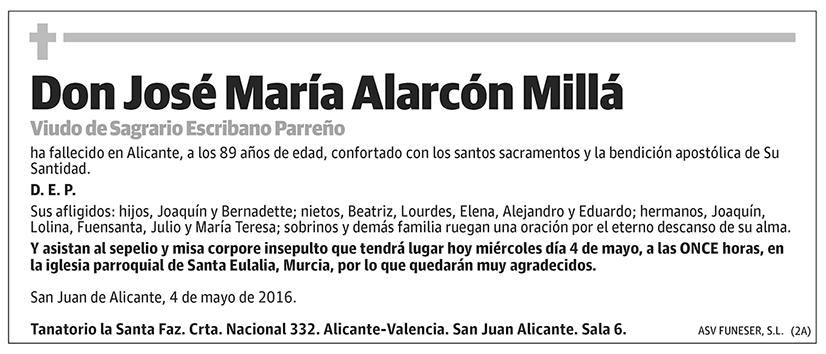 José María Alarcón Millá