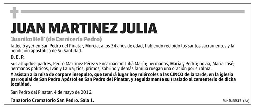 Juan Martínez Julia