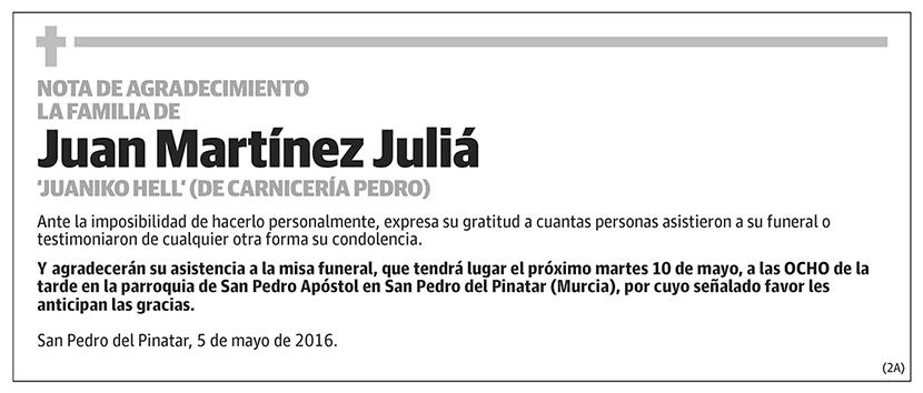 Juan Martínez Juliá