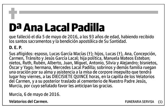 Ana Lacal Padilla