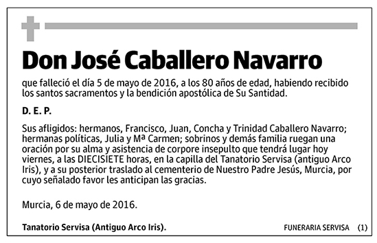 José Caballero Navarro
