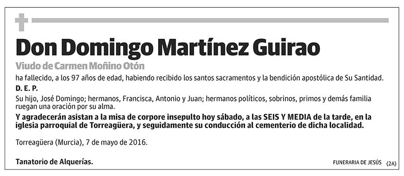 Domingo Martínez Guirao