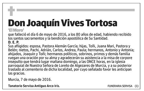 Joaquín Vives Tortosa