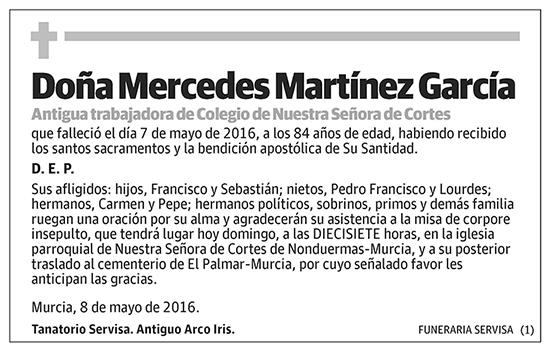 Mercedes Martínez García