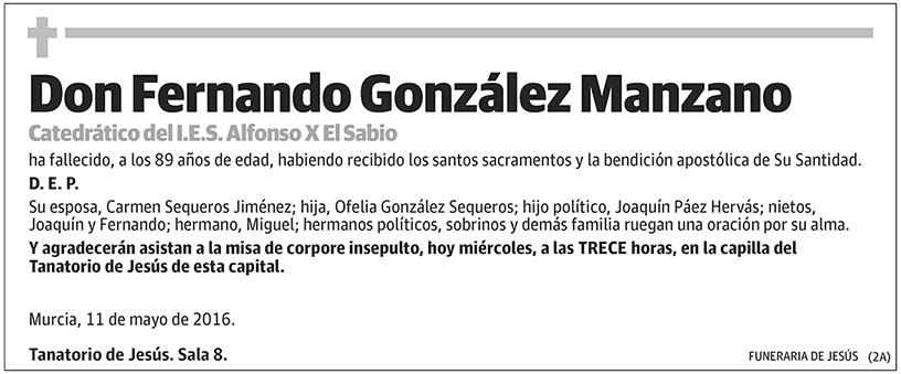 Fernando González Manzano