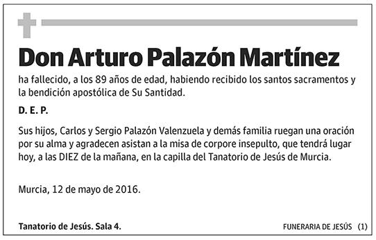 Arturo Palazón Martínez