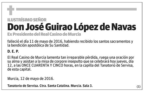 José Guirao López de Navas