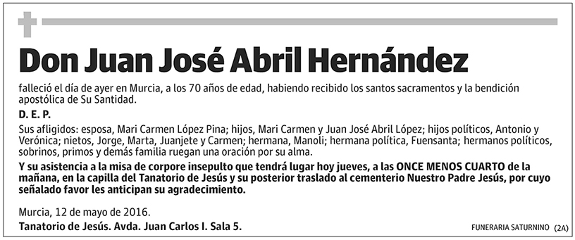 Juan José Abril Hernández