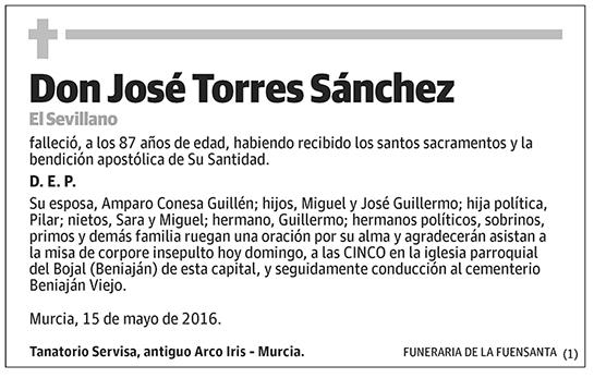 José Torres Sánchez