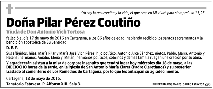 Pilar Pérez Coutiño