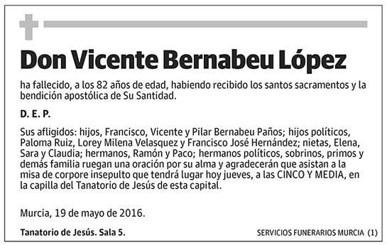 Vicente Bernabeu López