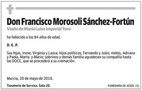Francisco Morosoli Sánchez-Fortún