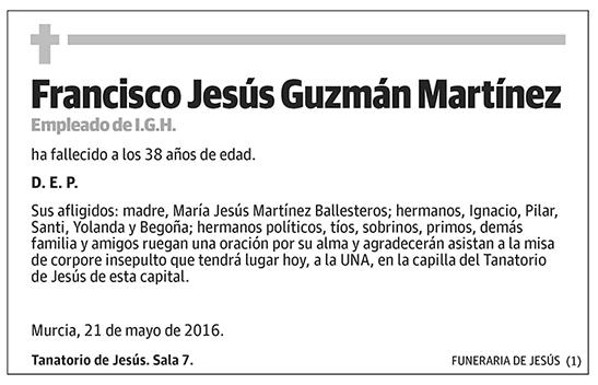 Francisco Jesús Guzmán Martínez