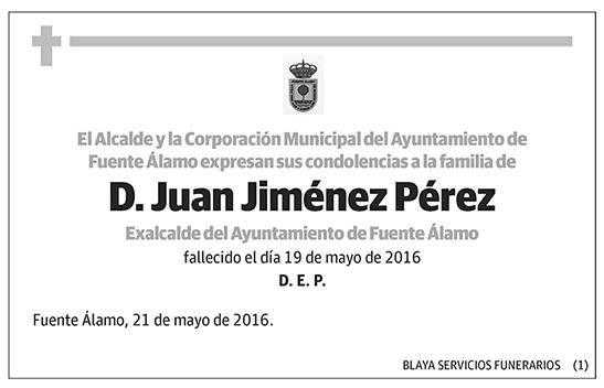 Juan Jiménez Pérez
