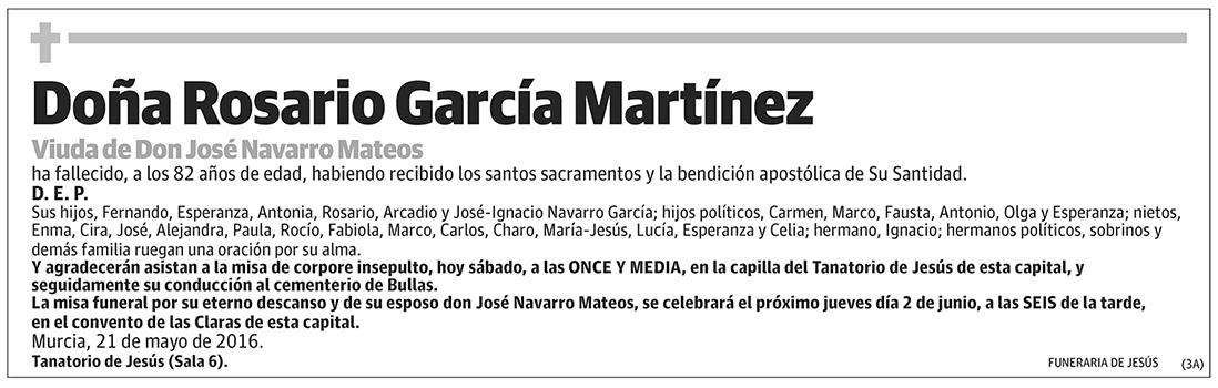 Rosario García Martínez