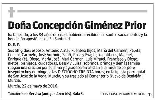 Concepción Giménez Prior