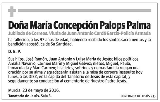 María Concepción Palops Palma