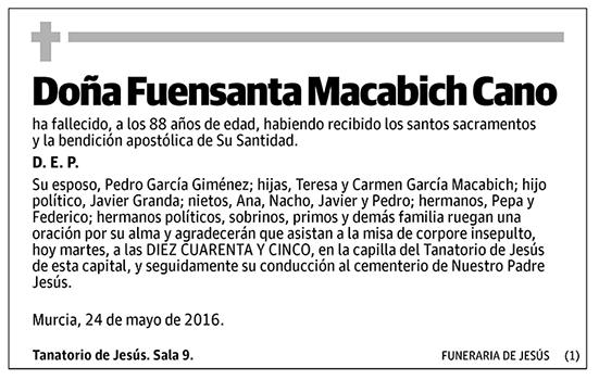 Fuensanta Macabich Cano