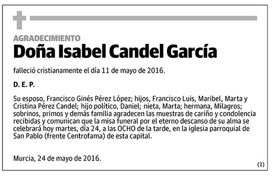 Isabel Candel García