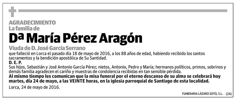 María Pérez Aragón
