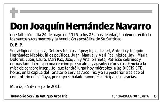 Joaquín Hernández Navarro
