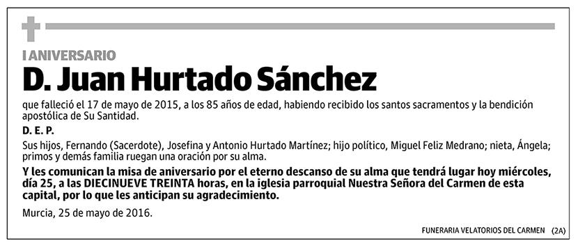Juan Hurtado Sánchez