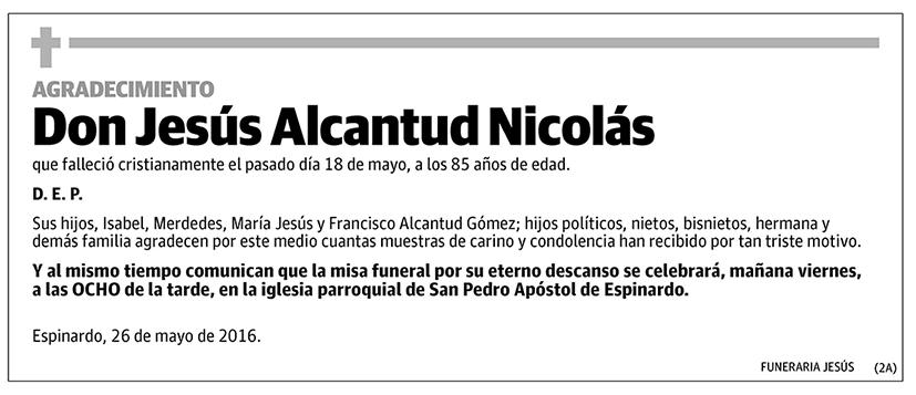 Jesús Alcantud Nicolás