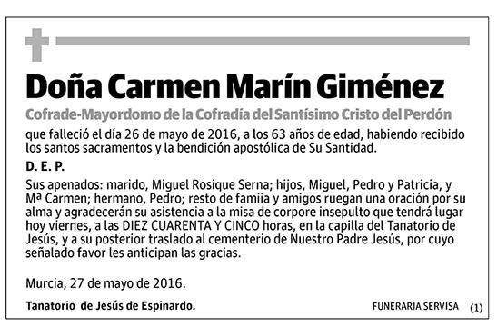 Carmen Marín Giménez