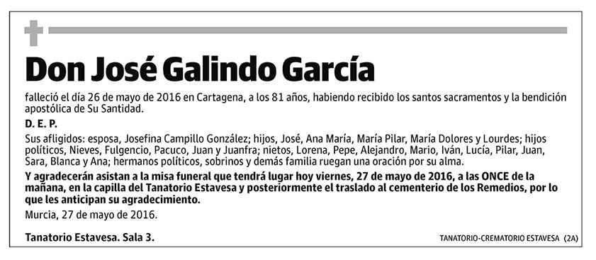José Galindo García