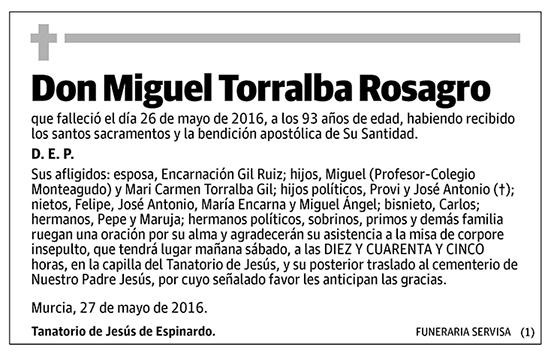 Miguel Torralba Rosagro