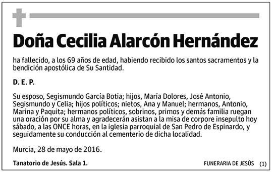 Cecilia Alarcón Hernández