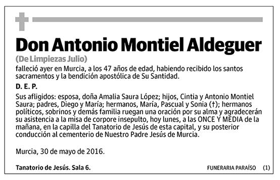Antonio Montiel Adelguer