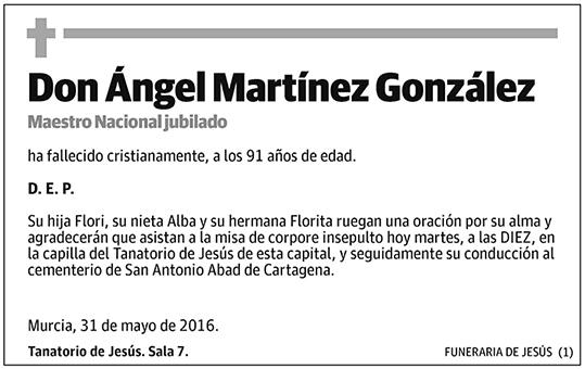 Ángel Martínez González
