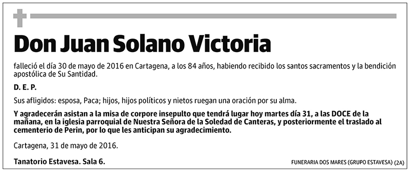 Juan Solano Victoria