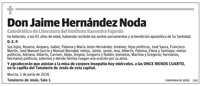 Jaime Hernández Noda