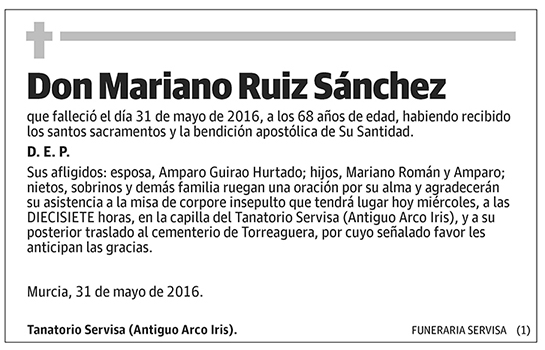 Mariano Ruiz Sánchez