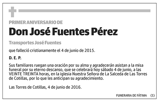 José Fuentes Pérez