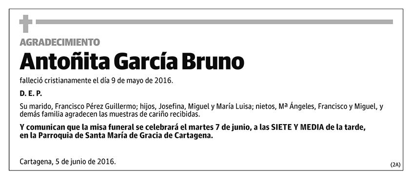 Antoñita García Bruno