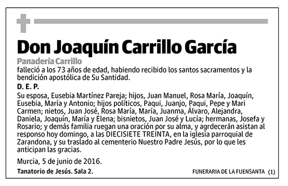 Joaquín Carrillo García