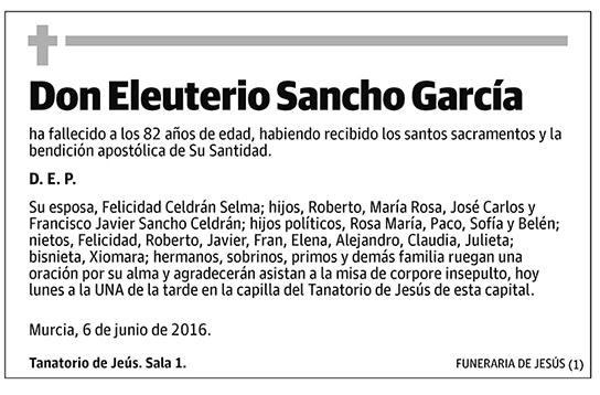 Eleuterio Sancho García