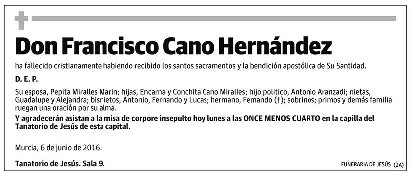 Francisco Cano Hernández