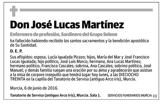José Lucas Martínez