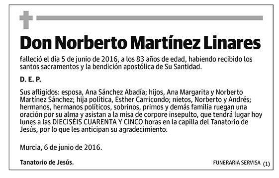 Norberto Martínez Linares